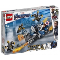 76123 Captain American: Outriders Attack